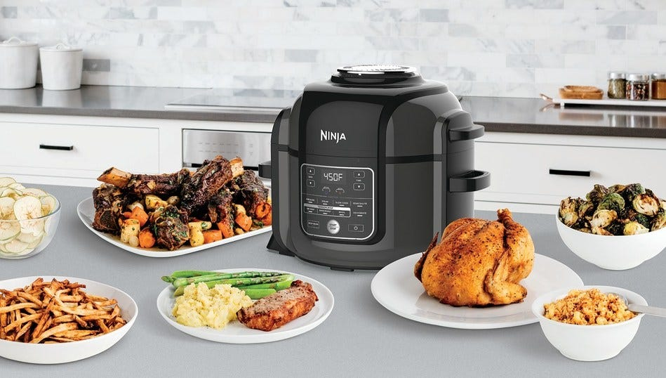 Flexible and All-In-One kitchen appliances